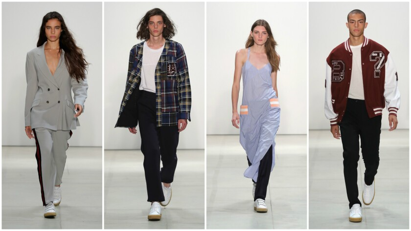 New York Fashion Week Band Of Outsiders Runway Return Suffers By Comparison Los Angeles Times Band of Outsiders