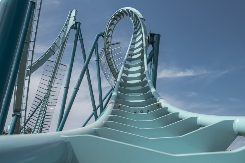 SeaWorld was expected to debut its new Emperor dive coaster this summer, but that was before coronavirus closures.