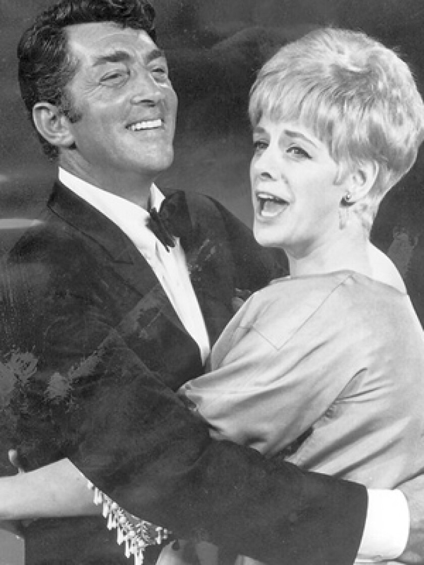 """Dean Martin and Rosemary Clooney on """"The Dean Martin Show"""" in May 1968."""