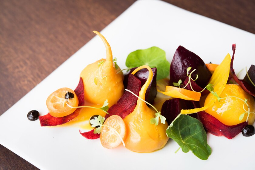 Beet salad from Avant at the Rancho Bernardo Inn. (Courtesy photo)