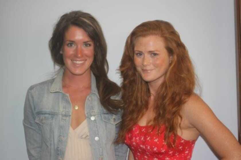 Emily Callahan and Amber Jackson. Ashley Mackin