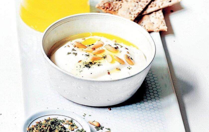 "Greek Yogurt With Lemon Vinaigrette, from ""Yogurt Culture."""
