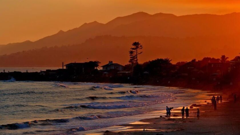 Carpinteria State Beach, a family-friendly slice of heaven