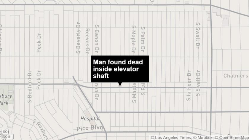 Elevator shaft map