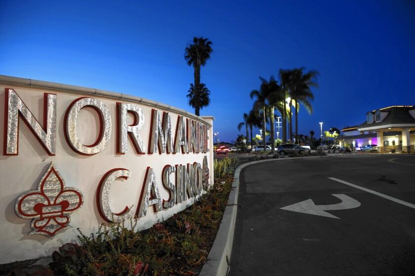 Normandie casino in gardena california