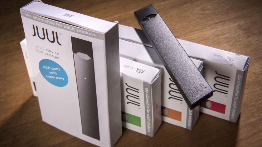 The FDA seized thousands of pages of documents from e-cigarette maker Juul Labs' San Francisco headquarters last week.