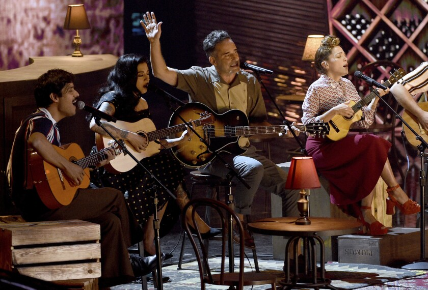 El David Aguilar, Mon Laferte, Jorge Drexler, Natalia LaFourcade