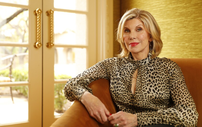 PASADENA, CA - JANUARY 30, 2019 - Actress Christine Baranski, who plays lawyer Diane Lockhart in the