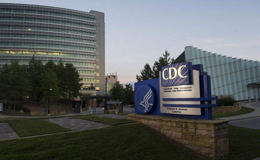 Aspecto de la entrada a los centros para el Control y Prevención de Enfermedades (CDC) en Atlanta, Georgia.
