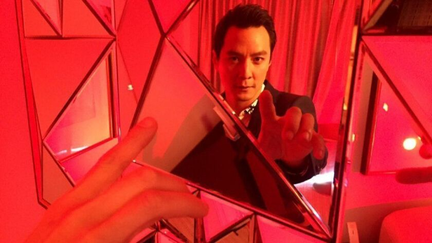 """California-born Daniel Wu became a megastar in Asia and only now is getting traction in Hollywood, appearing in the """"Tomb Raider"""" reboot and starring on AMC's """"Into the Badlands."""""""
