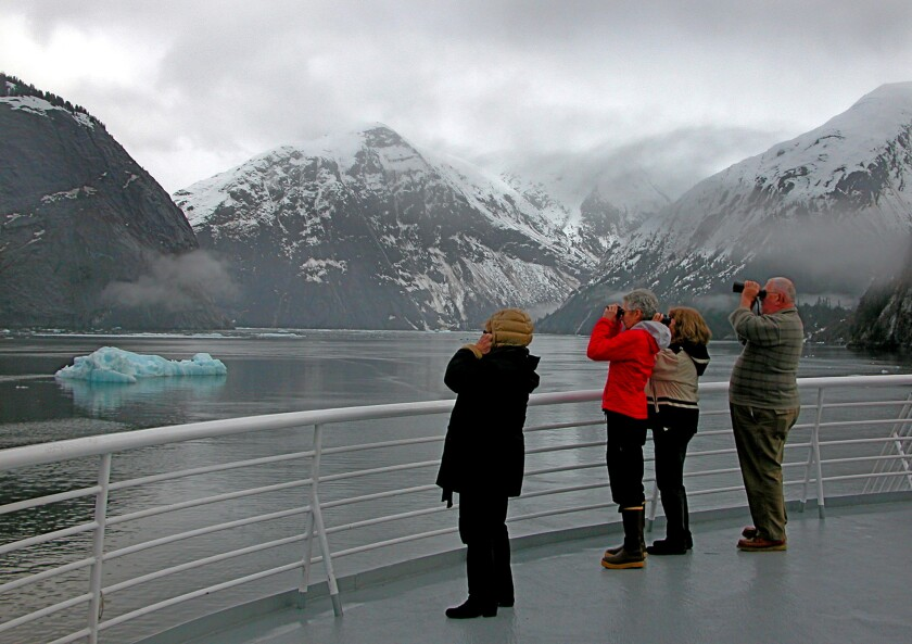 The ferry boat Malaspina, named after a glacier, is part of the Alaska Marine Highway System.