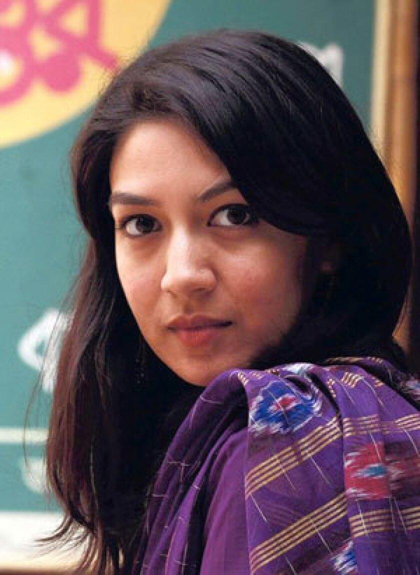 Author Tahmima Anam.