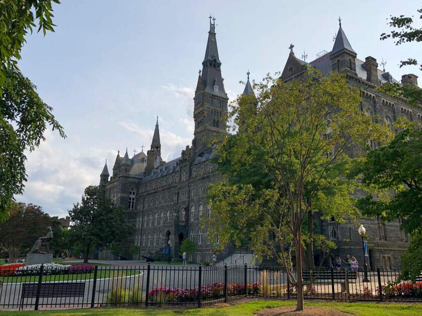 A Georgetown University initiative seeks to raise about $400,000 from donors, rather than students, to support health clinics and other projects in communities that are home to descendants of slaves who were sold to help pay the school's debts.