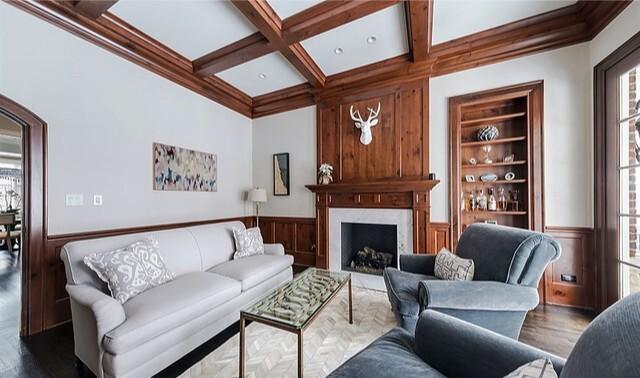 Justin Dearborn's Illinois home