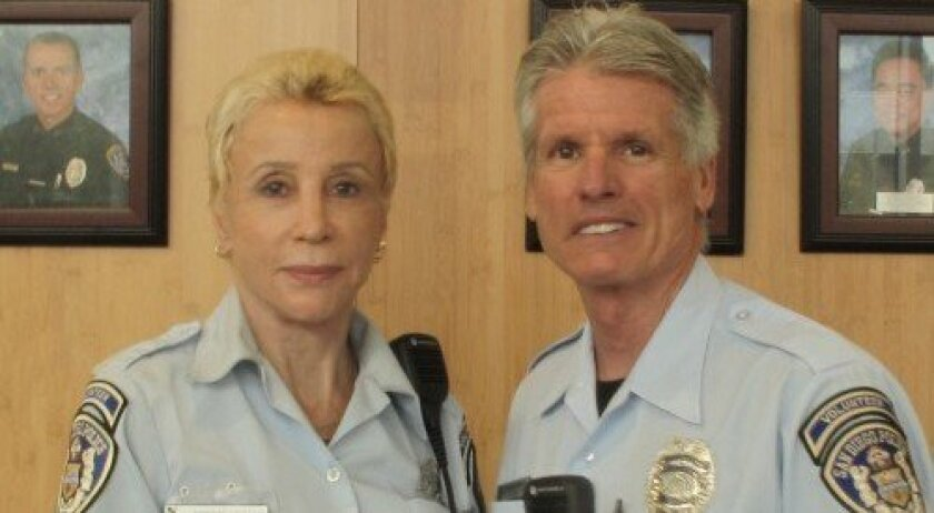 RSVP Officers Angelika and Preston Drake. Courtesy photo
