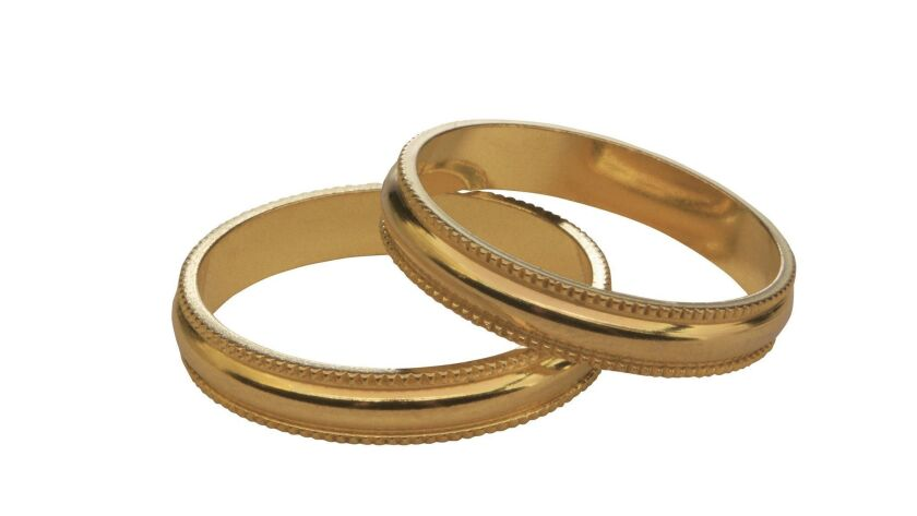 Wedding bands ** TCN OUT **