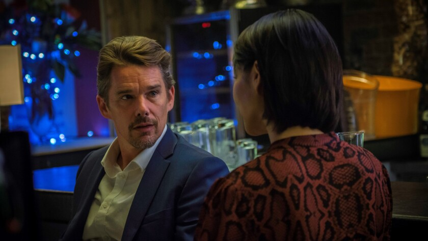 """Ethan Hawke in a scene from the movie """"24 Hours to Live."""" Credit: Coco Van Oppens / Saban Films"""