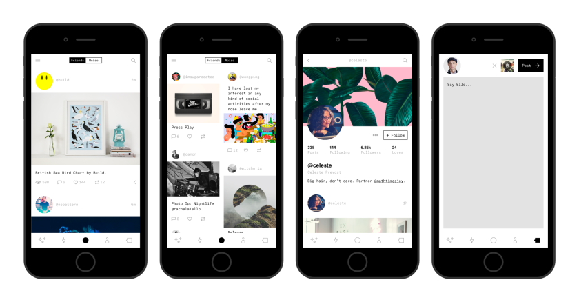 Ello, the ad-free social network that launched in October, is releasing its mobile app Thursday.