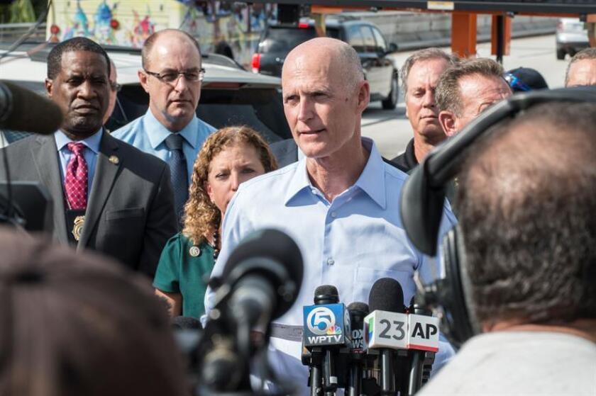 El pasado 9 de diciembre, el gobernador estatal, Rick Scott, declaró libre del virus del Zika el último foco de transmisión localizado en Miami Beach. EFE/Archivo