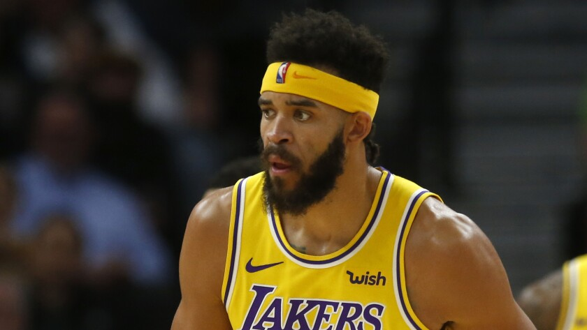 Lakers center JaVale McGee has asthma but he's not worried about resuming the NBA season during the COVID-19 pandemic.