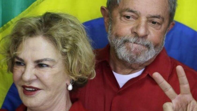 Líderes regionales enviaron sus condolencias al expresidente brasileño, Luiz Inácio Lula da Silva.
