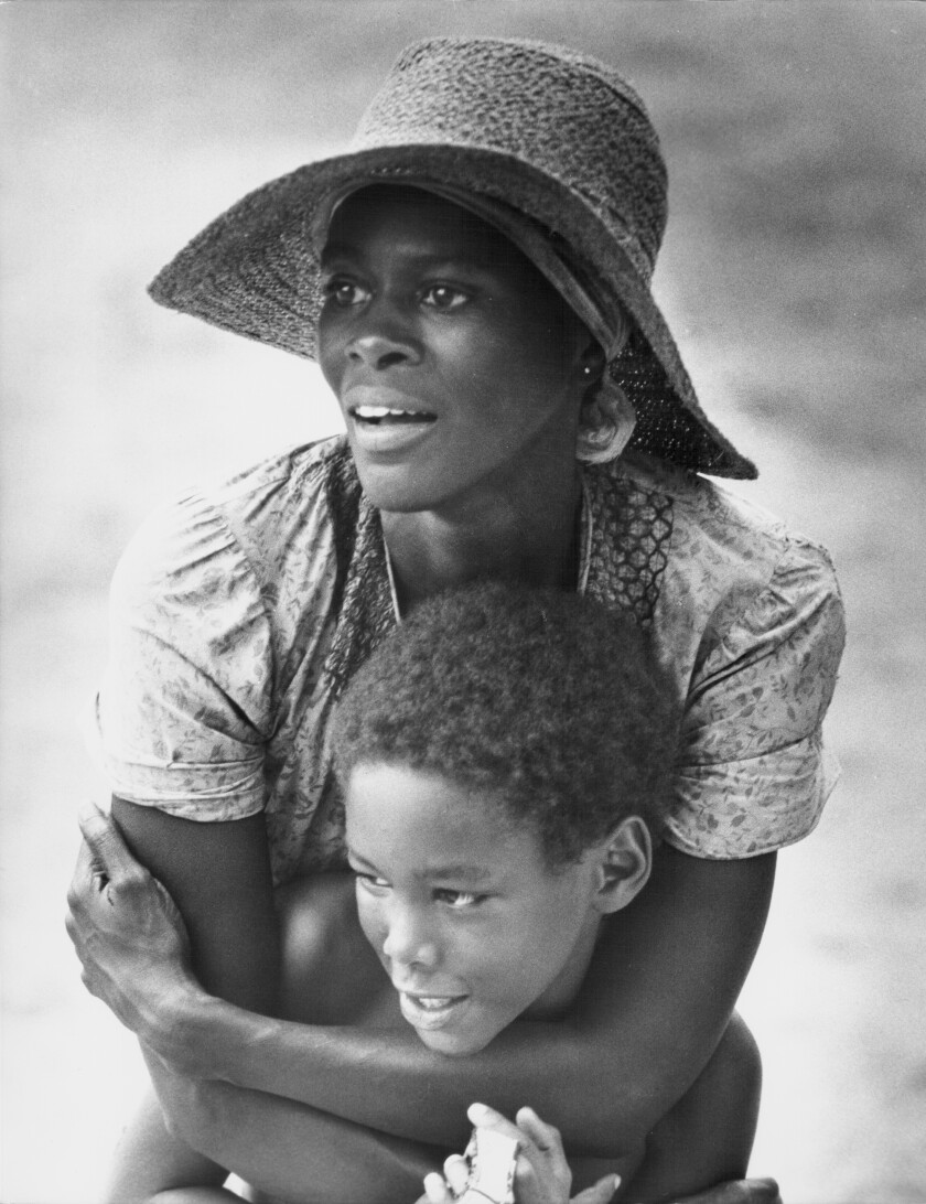 """Cicely Tyson in """"Sounder"""" (1972)."""
