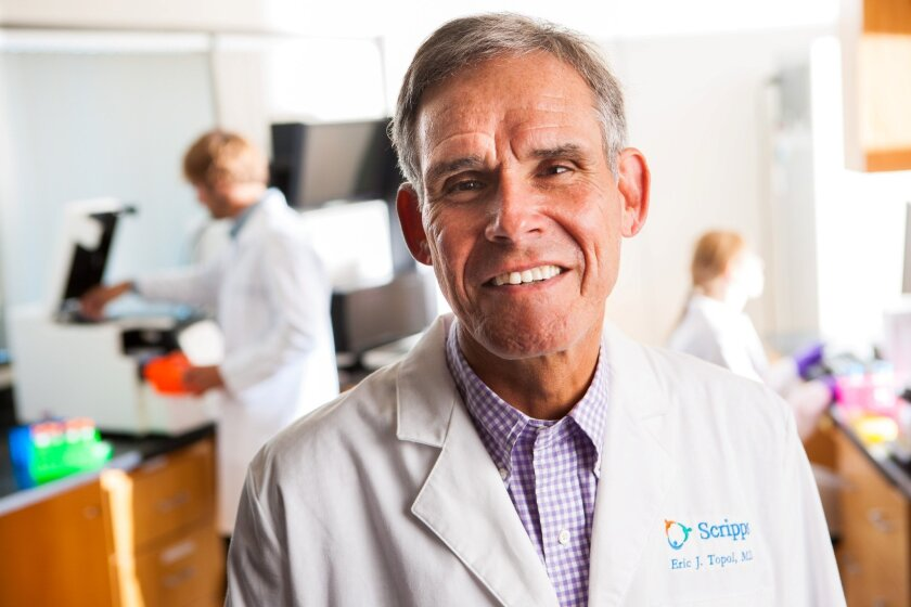 Dr. Eric Topol, chief academic officer of Scripps Health.