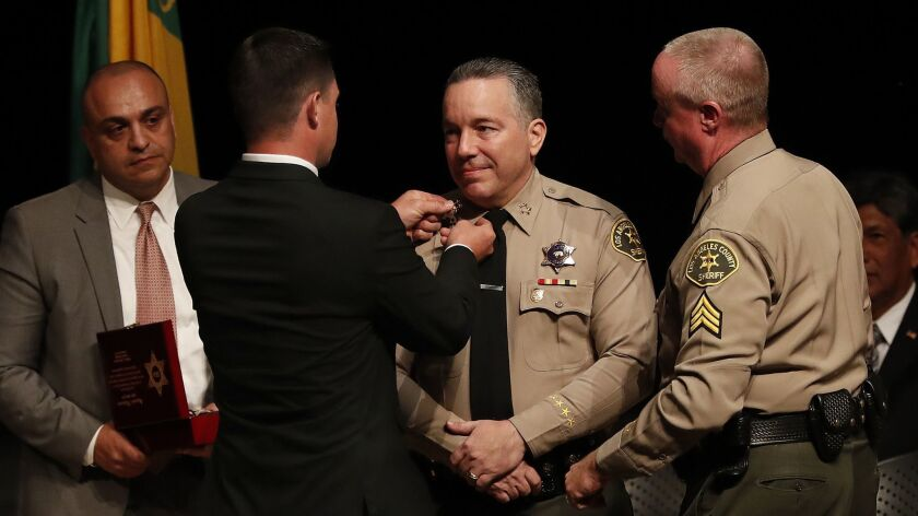 Must Reads: L.A. County Sheriff Alex Villanueva tells hundreds of top staff to hand in résumés and temporarily remove rank insignia