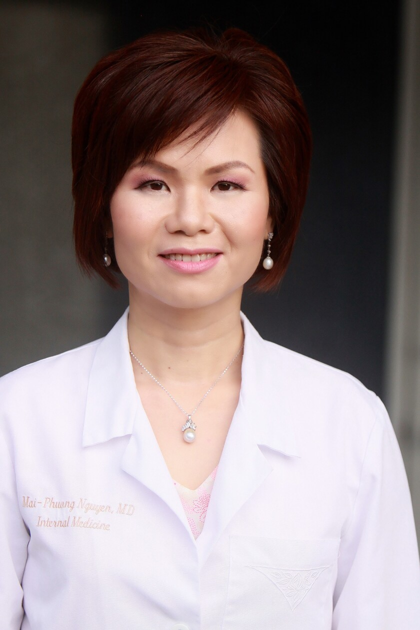 Dr. Mai-Phuong Nguyen of Huntington Beach has been championing telehealth for almost a decade.