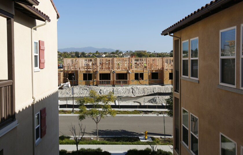 Enclave Otay Ranch Apartments construction