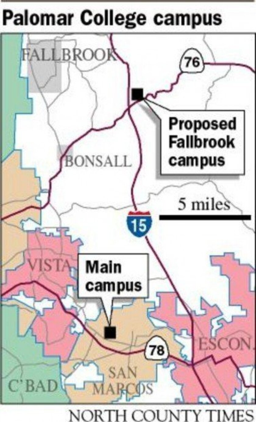 REGION: County files lawsuit against Palomar College - The ...