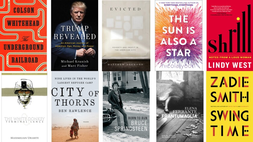 The 10 most important books of 2016