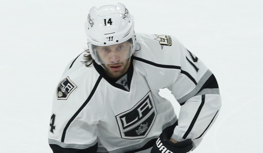 Tom Gilbert will miss the next three games for the Kings.