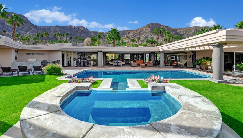 Bing Crosby's former Rancho Mirage retreat