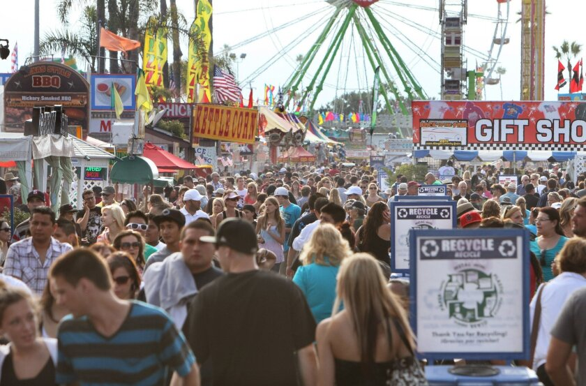 The fair has it all: thrill rides, kettle corn and now a scavenger hunt