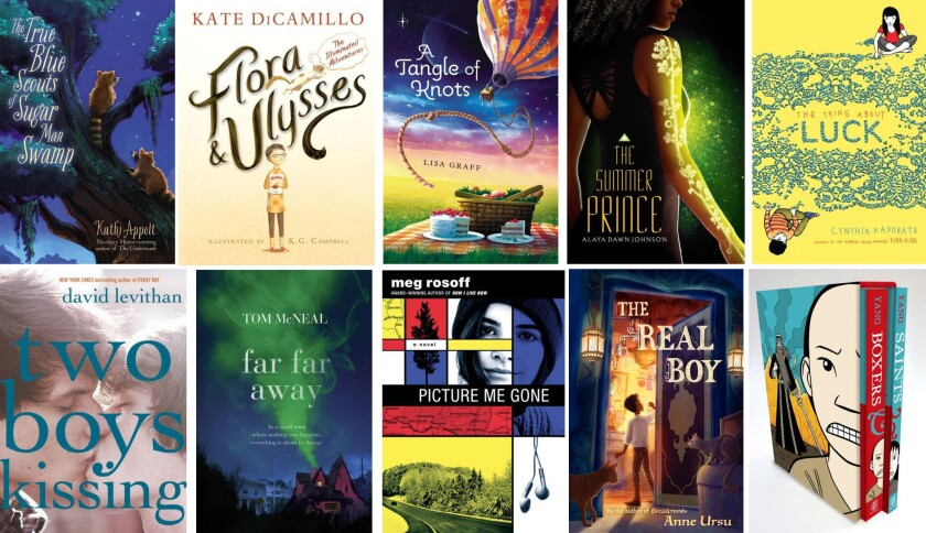 Longlist National Book Award for young people's literature