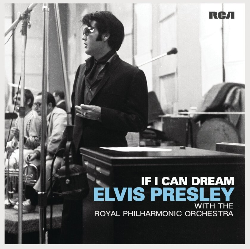 """A new album adds orchestral support to 14 Elvis Presley recordings including """"Love Me Tender,"""" """"Can't Help Falling in Love"""" and """"It's Now or Never."""""""