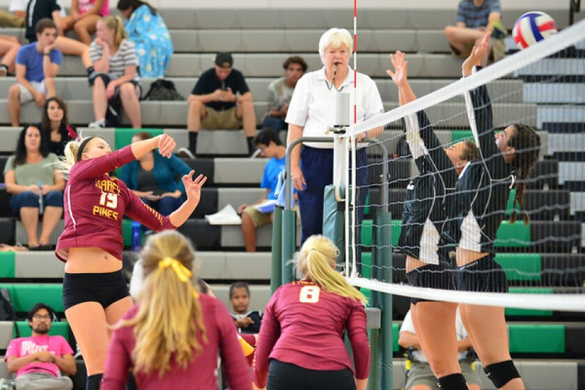 Torrey Pines defeated Mission Vista 3-0 () in a nonleague match on Sept. 22.