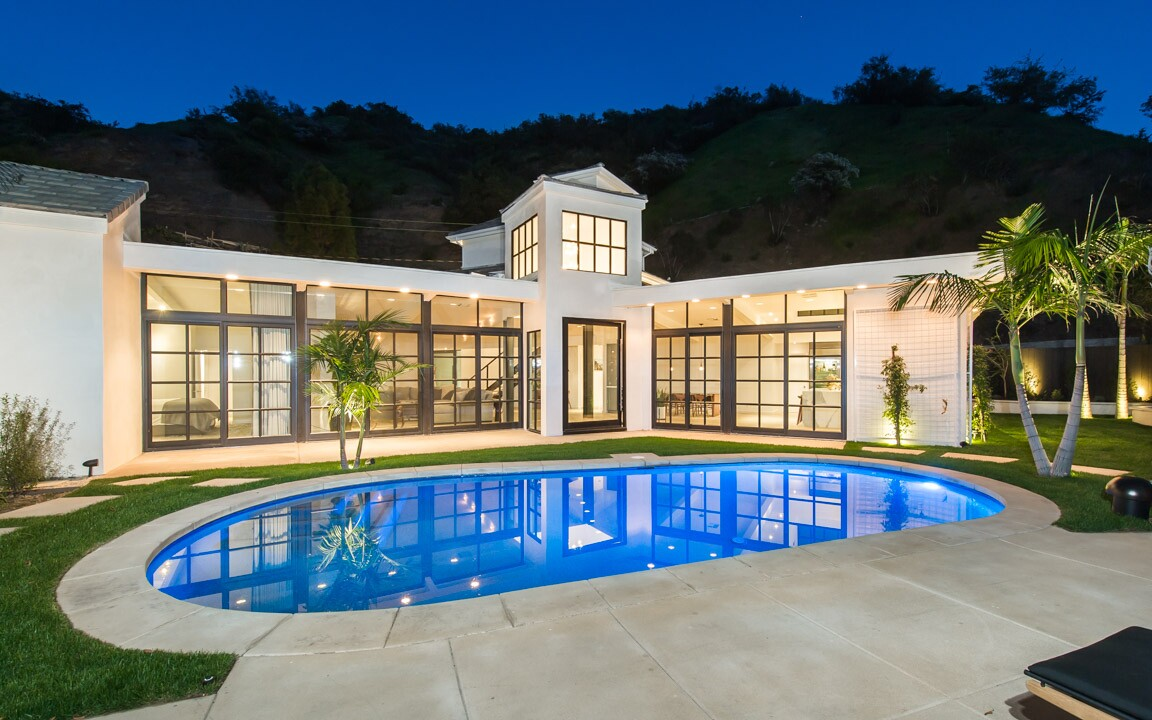 Lea Michele's Brentwood home