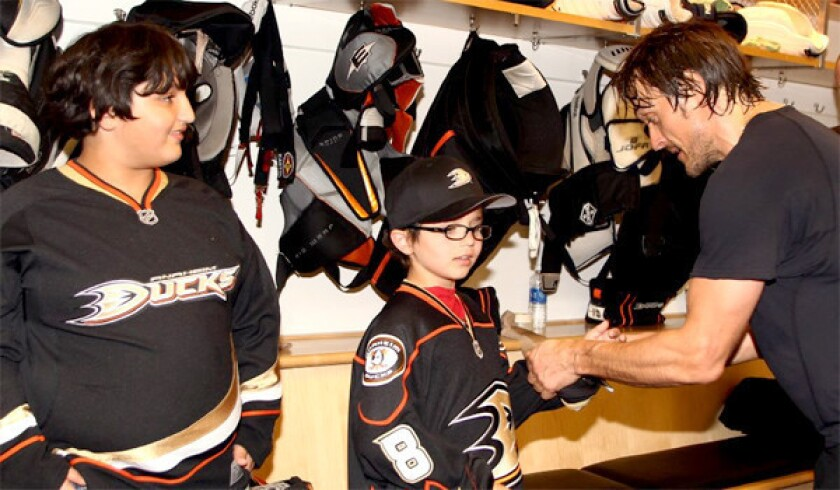 Teemu Selanne, a comeback kid and a promise happily kept