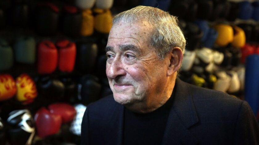 Promoter Bob Arum reflects on his 50 years of experience in the boxing world