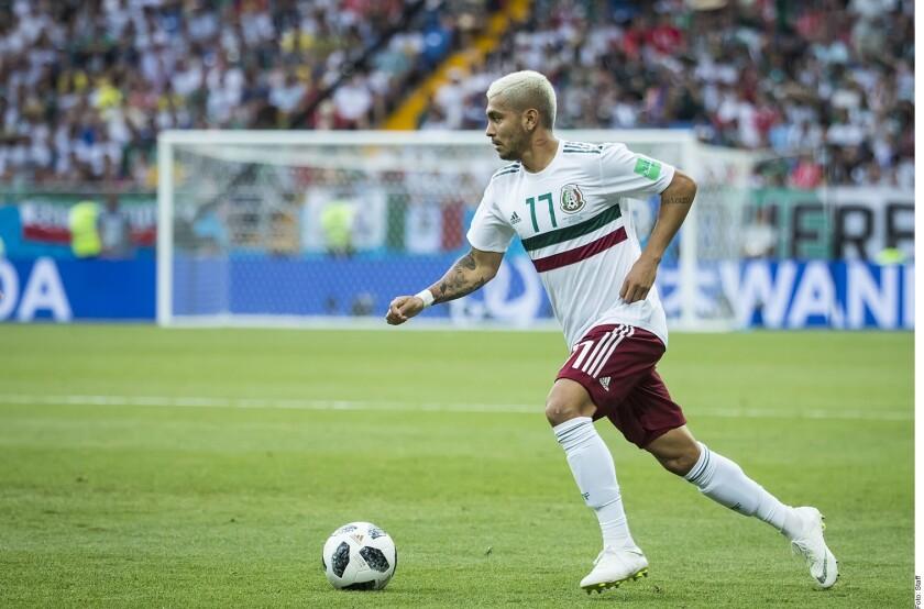 Jesús Corona disputa la Copa Oro 2021.