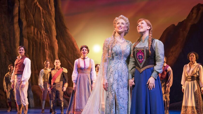 Disney Theatrical Productions under the direction of Thomas Schumacher presents Frozen, the new Broa