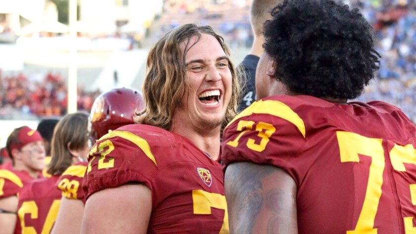 USC offensive tackle Chad Wheeler will not play in the Holiday Bowl