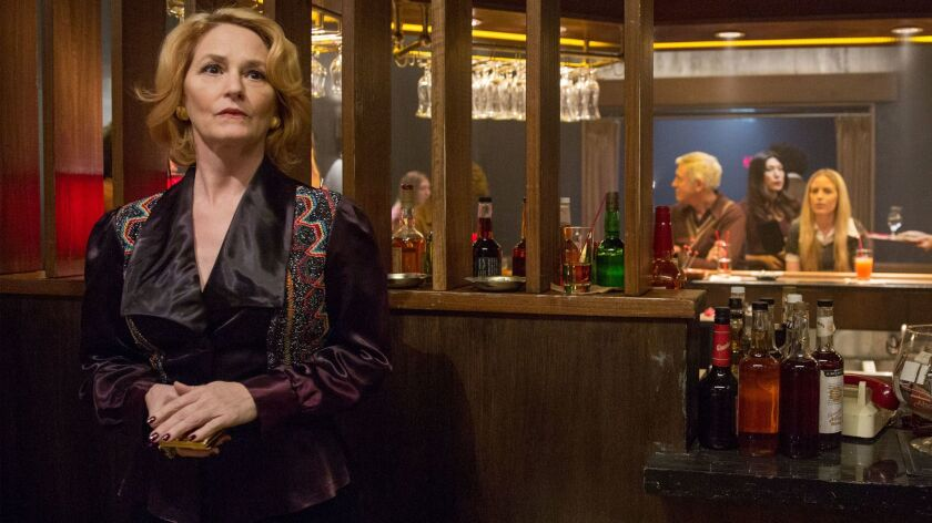 """Melissa Leo as Goldie in Showtime's """"I'm Dying Up Here."""""""