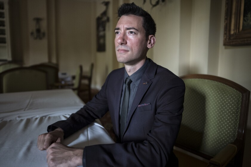 David Daleiden, an anti-abortion activist, had a search warrant served on his Huntington Beach apartment by the state Department of Justice.