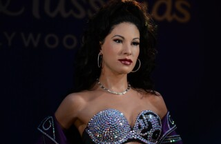 Unveiling of Selena wax figure draws fans from across the country