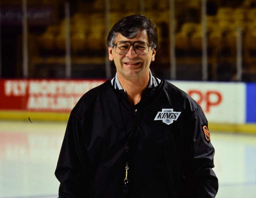 Tom Webster led the Kings to their first division title and coached the team from the 1989-90 through 1991-92 seasons.