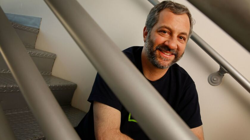 LOS ANGELES, CA – DECEMBER 01, 2017: Writer-director-producer Judd Apatow photographed December 01