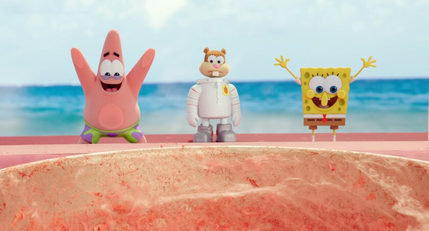 'The SpongeBob Movie: Sponge Out of Water'